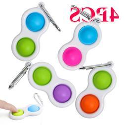4PCS Baby Simple Dimple Toys Intelligence Development Kids B