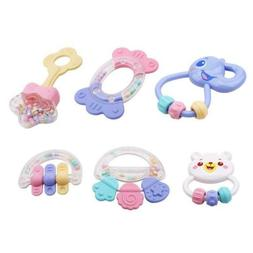 Animal Teether Rattles Baby Toys Dental Toys Games Toy Baby
