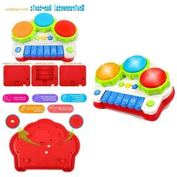 Baby Drum Set Learning Toys For Kids Keyboard Piano Educatio