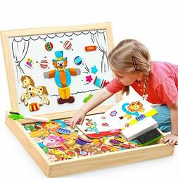 Education Toys For Kids Children Multifunctional Wooden Magn