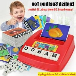 Educational English Spelling Alphabet Letter Game Early Lear