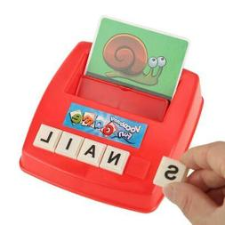English Alphabet Early Learning Educational Toy Spelling Let