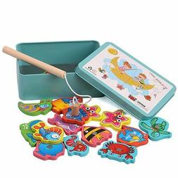 fishing toys fun magnetic puzzle game children