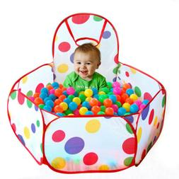 Kids Children Portable Ball Pit Pool Play Tent for Baby Indo