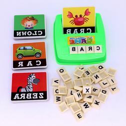 English Spelling Alphabet Letter Game Early Learning Educati