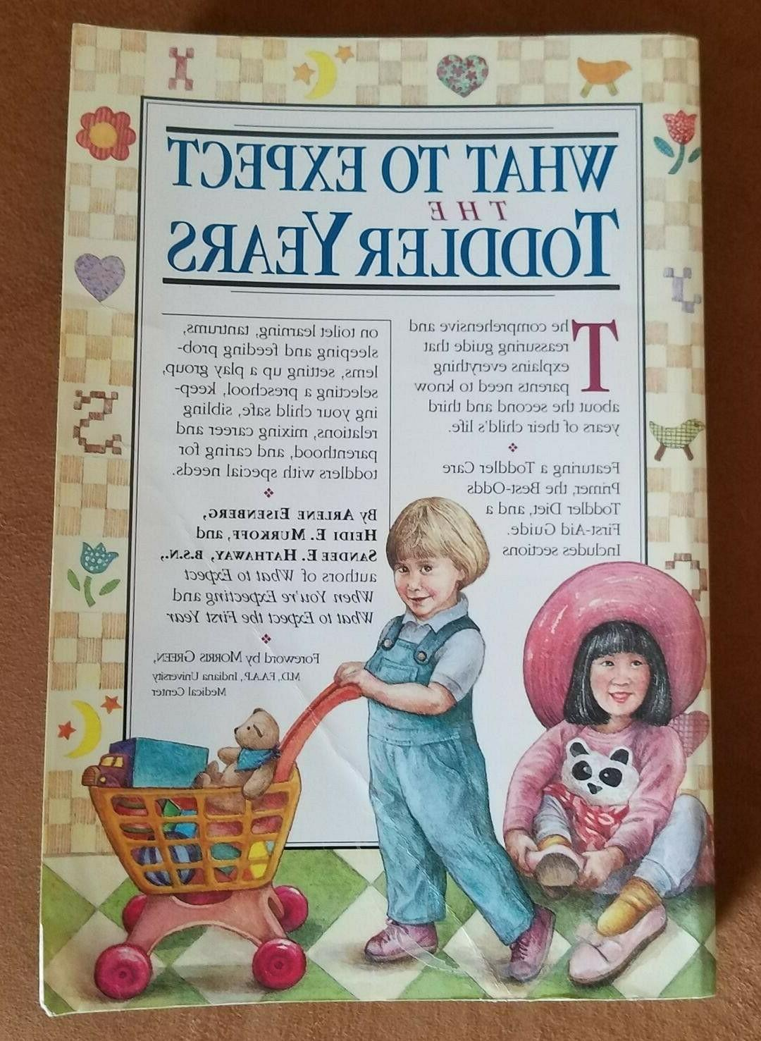 Book Parenting Baby What to Expect the Toddler Years