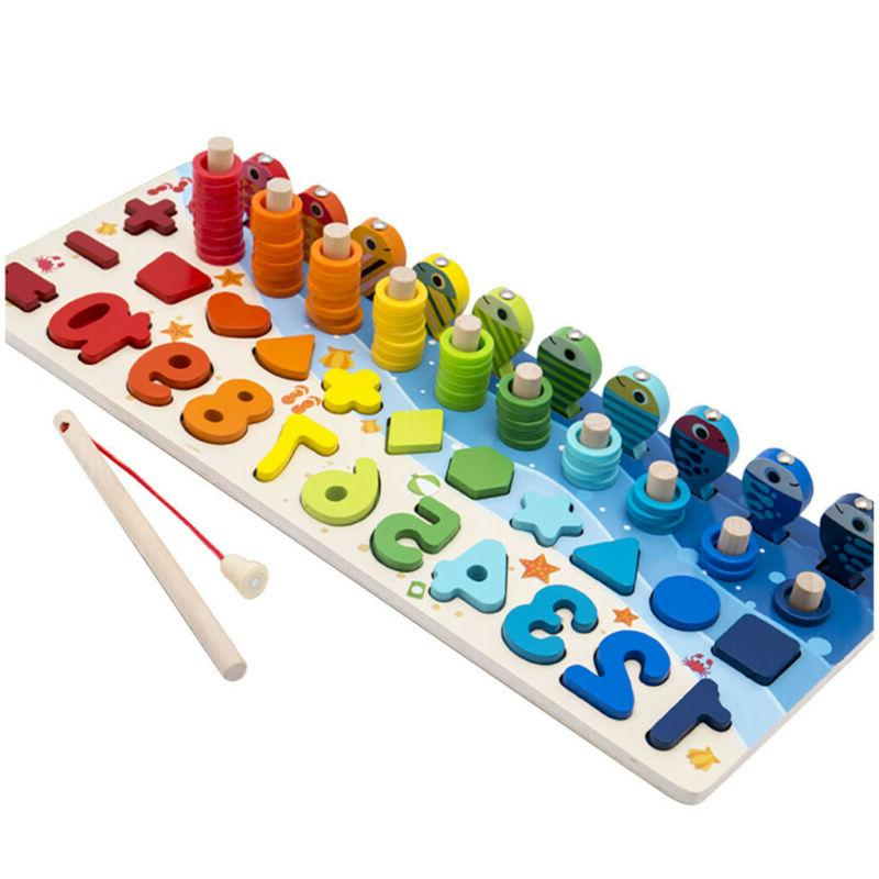 Children's Number Fishing Learning Game