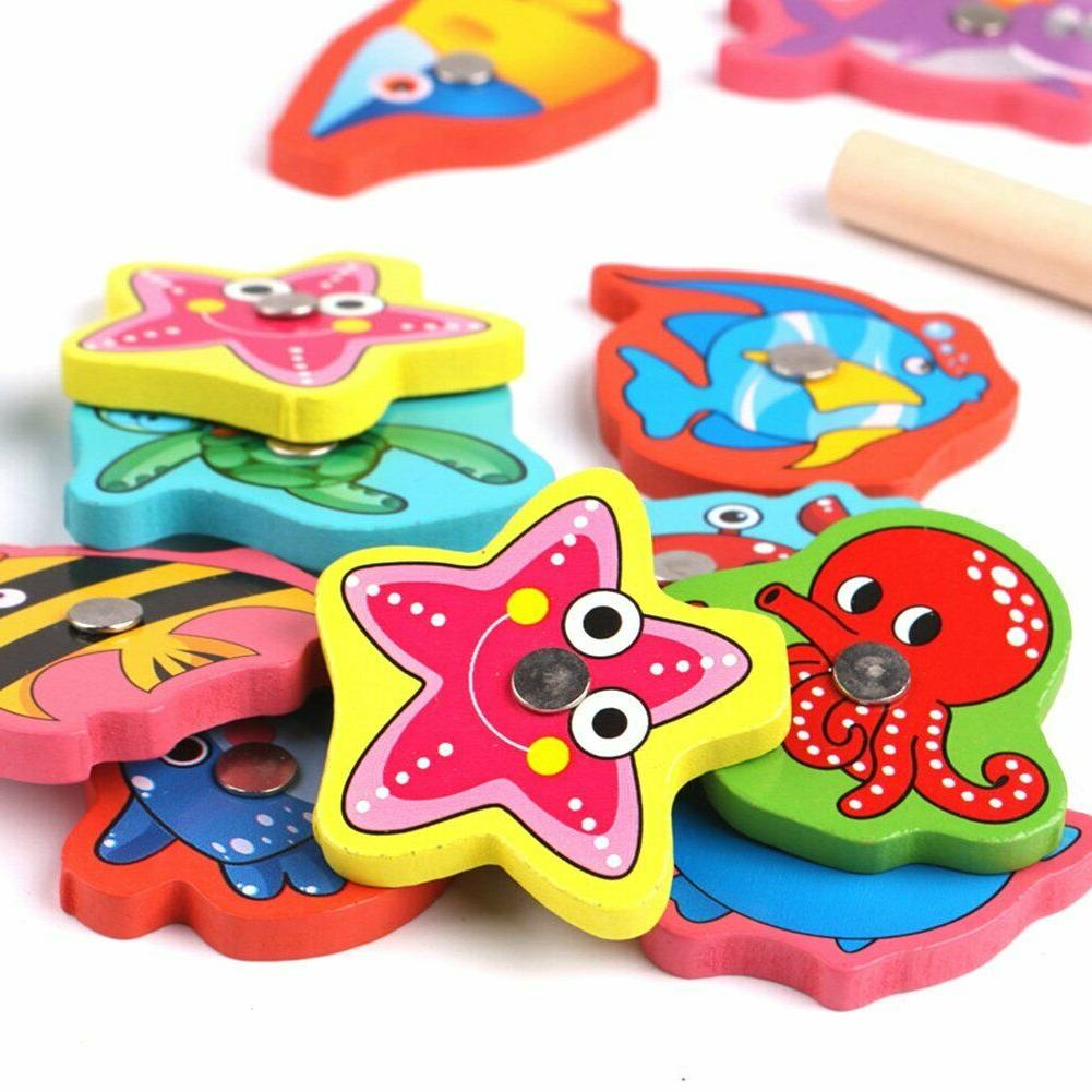 Fishing Toys Puzzle Wooden Box
