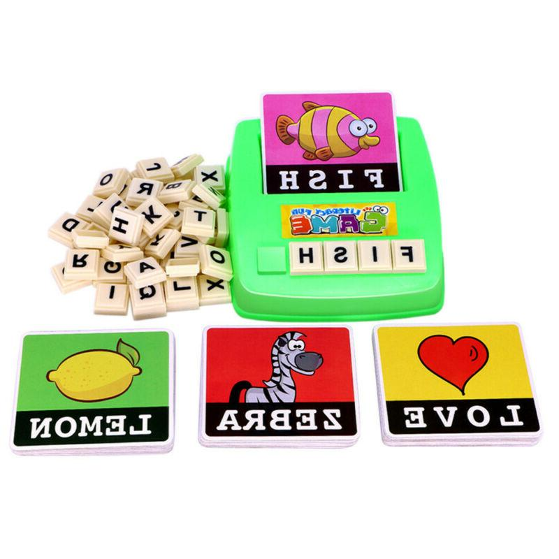 Kids English Alphabet Letter Learning Educational