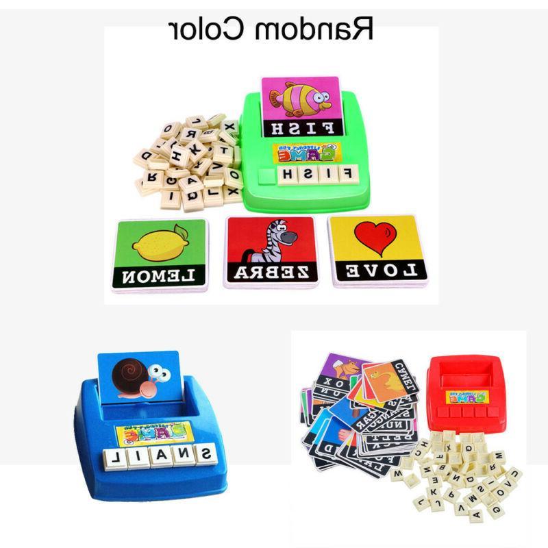 Kids English Alphabet Learning Educational Plastic