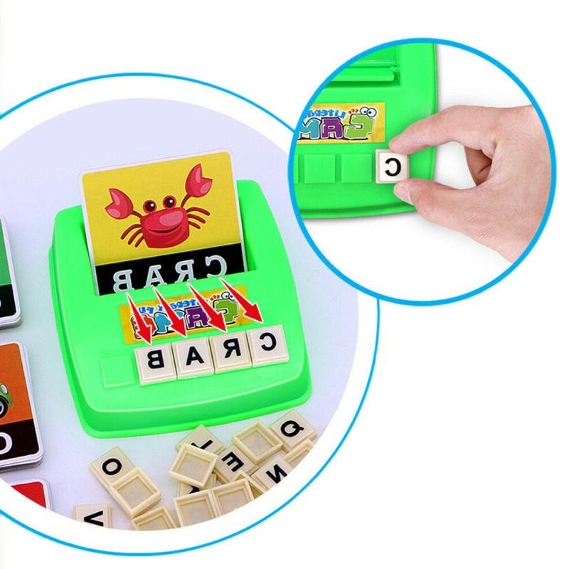Kids Alphabet Learning Early Educational Plastic