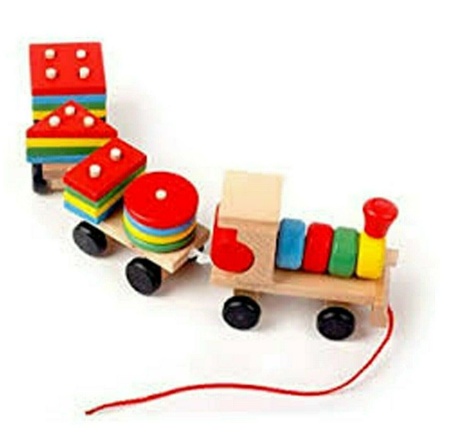 kids shapes colors learning toy wood fun