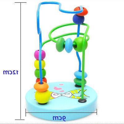 Mini Beads Maze Roller Coaster Educational Game Toys US