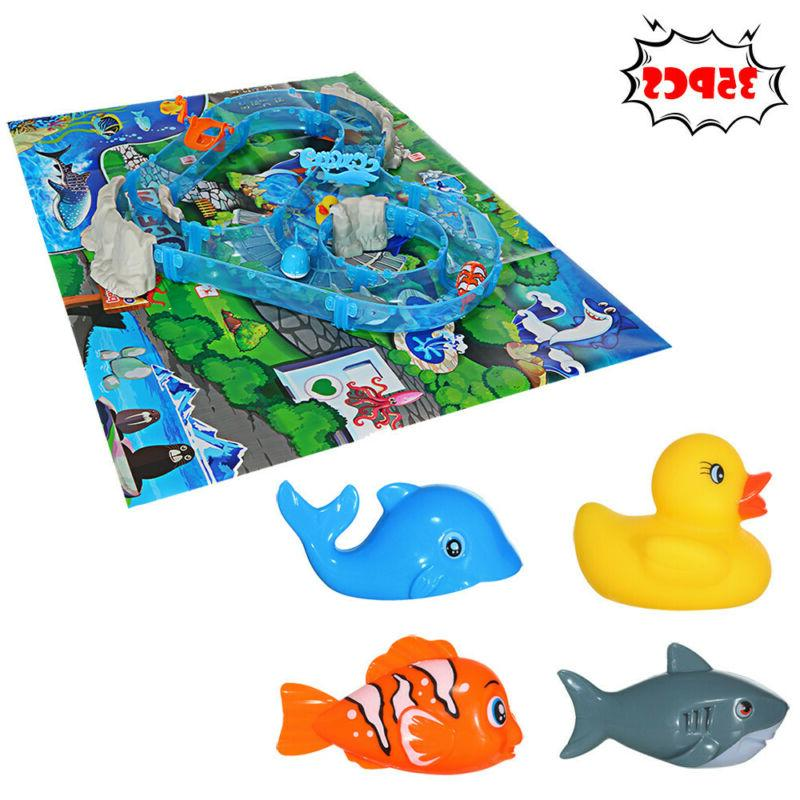 Ocean Track Children's Playground Parenting Fishing Toys Fis