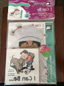 New I Can Be learning Hand-Puppet & Board Book set Interacti