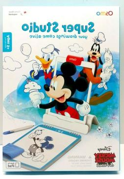 NEW Osmo Super Studio Mickey Mouse & Friends iPad Game - Bas