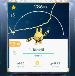 """Pokémon Go baby """"""""""""ELEKID """""""""""" !!"""