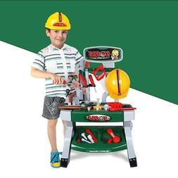 Toddler Boy Toy Tool Set Box Workbench Pretend Play Girl Kid
